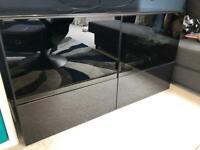 Tv unit storage cabinet