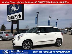 2015 Fiat 500L Lounge | Powered Panoramic Sunroof | Leather Inte