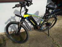 Woosh Rio Mountain Bike Electric Bike Very Good Condition