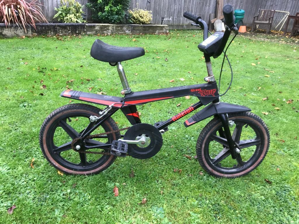 Raleigh burner bmx bike. 1980s