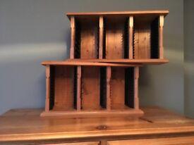 Solid Pine CD racks