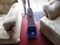 bissell quickwash carpet cleaner good clean working order