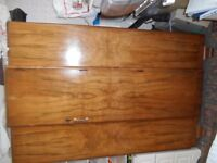 Large Art Deco Wardrobe with matching double bed