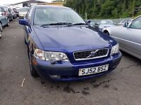 Volvo S40 1.6 S ++ MOT APRIL 17++JUST SERVICED++IDEAL FAMILY CAR++3 MONTH WARRANTY INCLUDED