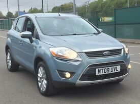 2009 FORD KUGA 2.0 TDCI 4WD * 5 DR * F.S.H * LEATHER * NAV * PART EX * DELIVERY * FINANCE *