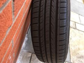 BMW 17inch X3 alloys superb tyres and sensors.