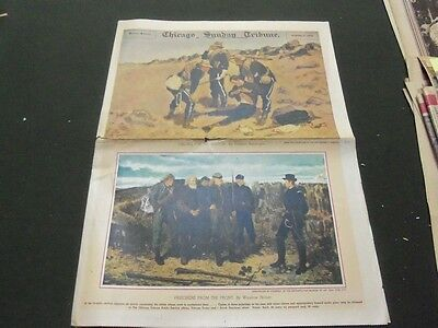 1939 Nov Chicago Tribune Newspaper Picture Section   Remington   Homer   Np 1598