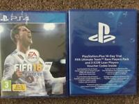 Fifa 18 and Fifa ultimate team rare players pack both brand new sealed