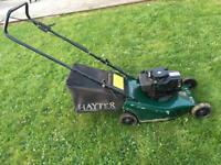 FOR SALE HAYTER HUNTER 41 PETROL LAWNMOWER