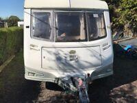 2 Birth Abi Award Dawnstar Touring Caravan, Very Clean, No Damp