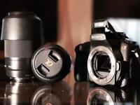 Sony A350 Camera, Charger + 2 lenses & case
