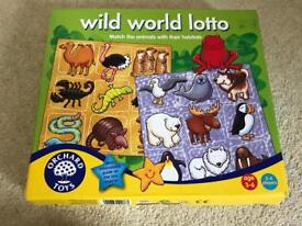 Orchard toys wild world loto game
