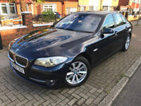 2011 (60) BMW 5 SERIES 520d SE 2.0 DIESEL DCT AUTOMATIC EXCELLENT CONDITION FULL SERVICE HISTORY