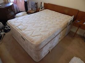 Silentnight Double Bed for sale, excellent condition