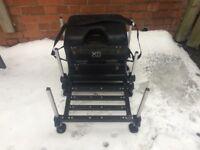 Preston Innovations X5 seatbox with footplate