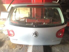 Golf mk5 tailgate complete bootlid