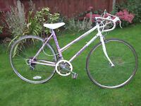EMMELLE CONTESSE RACER ONE OF MANY QUALITY BICYCLES FOR SALE
