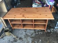 IKEA PINE COFFEE TABLE ** FREE DELIVERY IS AVAILABLE TONIGHT **