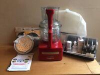 Magimix 4200XL BlenderMix Food Processor, Red