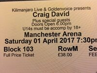 Craig David Manchester