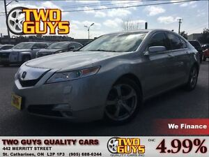 2009 Acura TL AWD LEATHER MOON ROOF