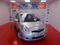 Toyota Yaris T SPIRIT VVT-I (£30.00 ROAD TAX) FREE MOT'S AS LONG AS YOU (silver) 2011