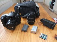 Canon 20D DSLR camera - with or without lenses and accessories