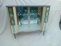 60's Display Cabinet