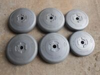 51kgs Vinyl weights - Plymouth