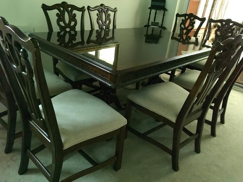 Beautiful Dining Table And Chairs Price Reduced East London