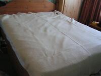 bouble blanket -wool