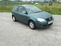 VERY LOW GENUINE Miles: 32K 2006 VW Polo 1.2 Petrol in VGC! with LONG mot: 26/07/2017 NO Advisories!