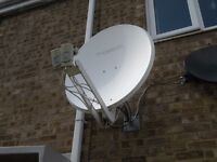 Satellite Dish 89cm Thomson for Astra 19.2 & Hotbird 13 deg (multifeed) - DELIVERY possible