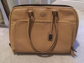 Paul Costelloe camel handbag / laptop bag