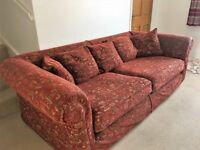 Large Sofa in great condition. Hard wearing with washable covers.