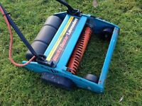 Black and Decker Lawn Raker with collection bin