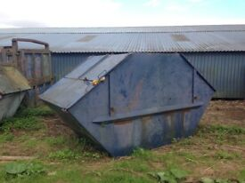 Steel skips ! Ideal for scrap metal/ waste removal company