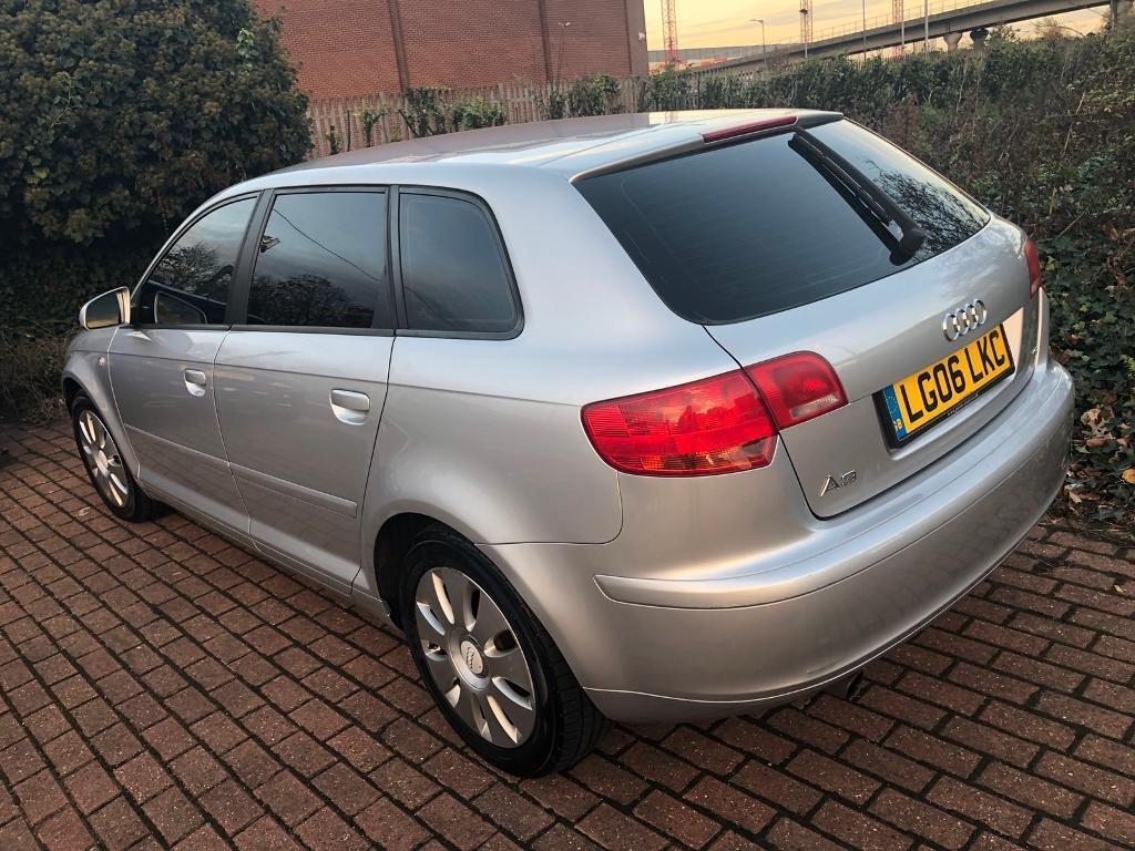 AUDI A3 SPECIAL EDITION TINTED WINDOWS 1.6 FULL YEARS MOT