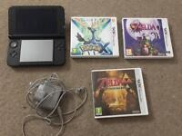 Nintendo 3DS XL +Pokémon X + Zelda Majora Mask & Link Between 2 Worlds + Fire Emblem