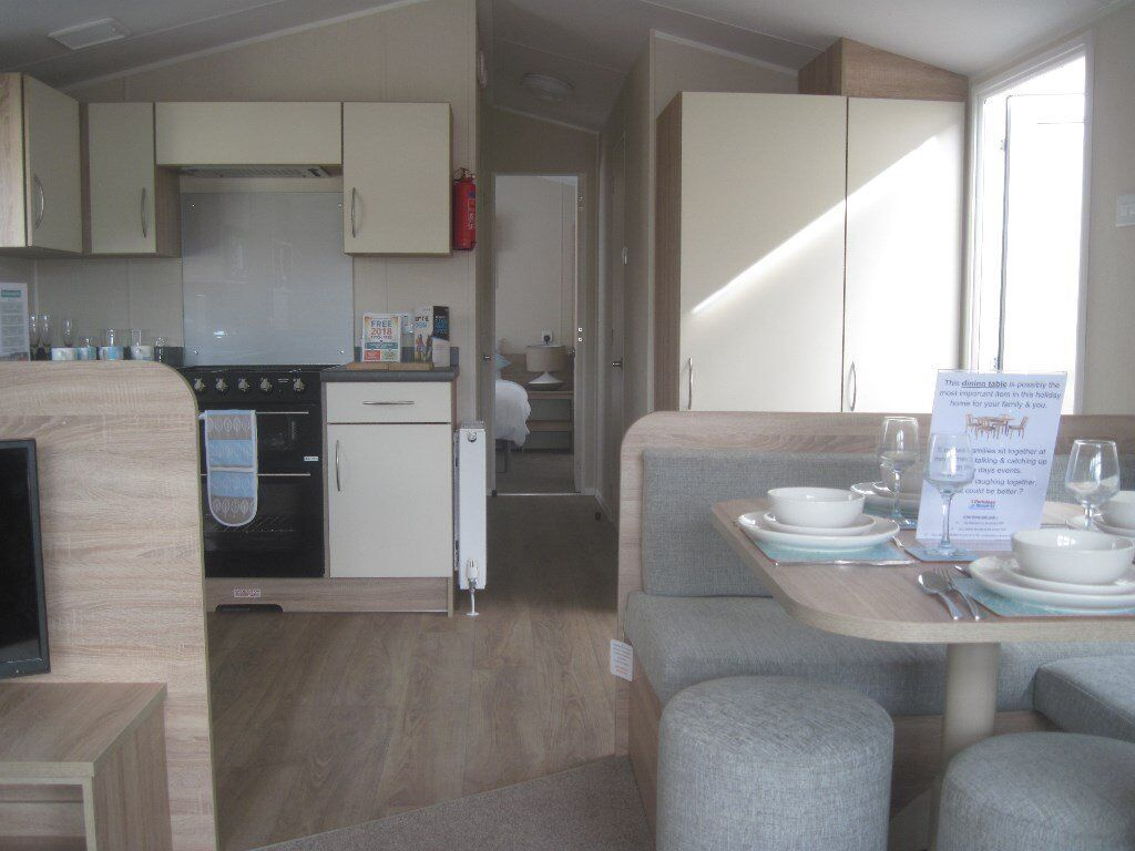 For sale static caravan holiday home sited Devon 6 berth 2 bed. Payment options available!