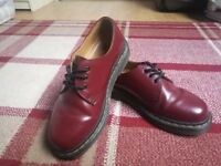 Dr Martens 1461 Smooth Cherry Red size 4
