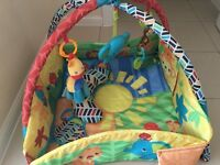 Bright starts sensory Safari playmat. Excellent condition as new. £25 RRP £70