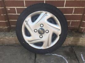 Nissan Micra spare tyre