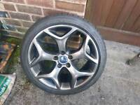 ford focus st225 alloy wheel with tyre
