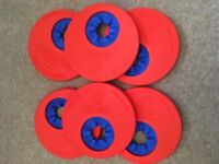 6 Delphin Swim Discs and Storage Bag
