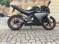Yamaha yzf r125 8k miles 2012!!! Perfect condition