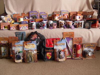 Vintage Harry Potter : Action Figure, Backpack, Die-cast, Mug, Tea Set, Torch +