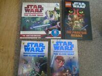 4 x Star Wars Books