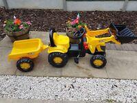 Childrens JCB Tractor