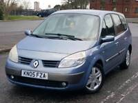 RENAULT GRAND SCENIC 2.0ltr (AUTOMATIC) *** LPG CONVERTED - 7 SEATER - LOW MILES ***